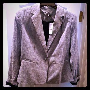 Size 10 linen blend NY&Co blazer